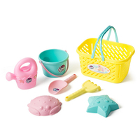 N028 Children S Beach Toy Set Large Baby Play Sand Dug Sand Spade Tools Basket Toy