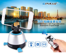 PULUZ 360 Degree Stabilizer Gimbal Delay Electric Shooting With Bluetooth Remote Control for Gopro Smartphone DSLR Video Camera