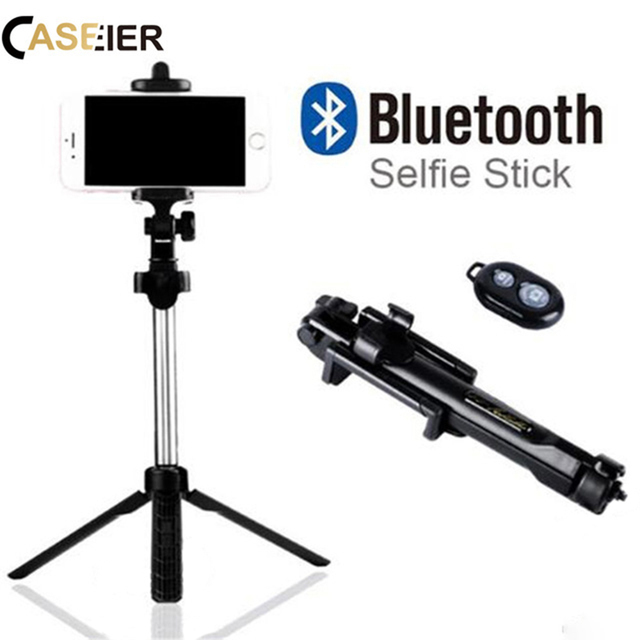 online store addf4 d2bb4 US $7.99 40% OFF|CASEIER Phone Tripod Selfie Stick Bluetooth Foldable  Selfie stick For iPhone X XS MAX For Samsung Xiaomi Huawei Remote  Handheld-in ...