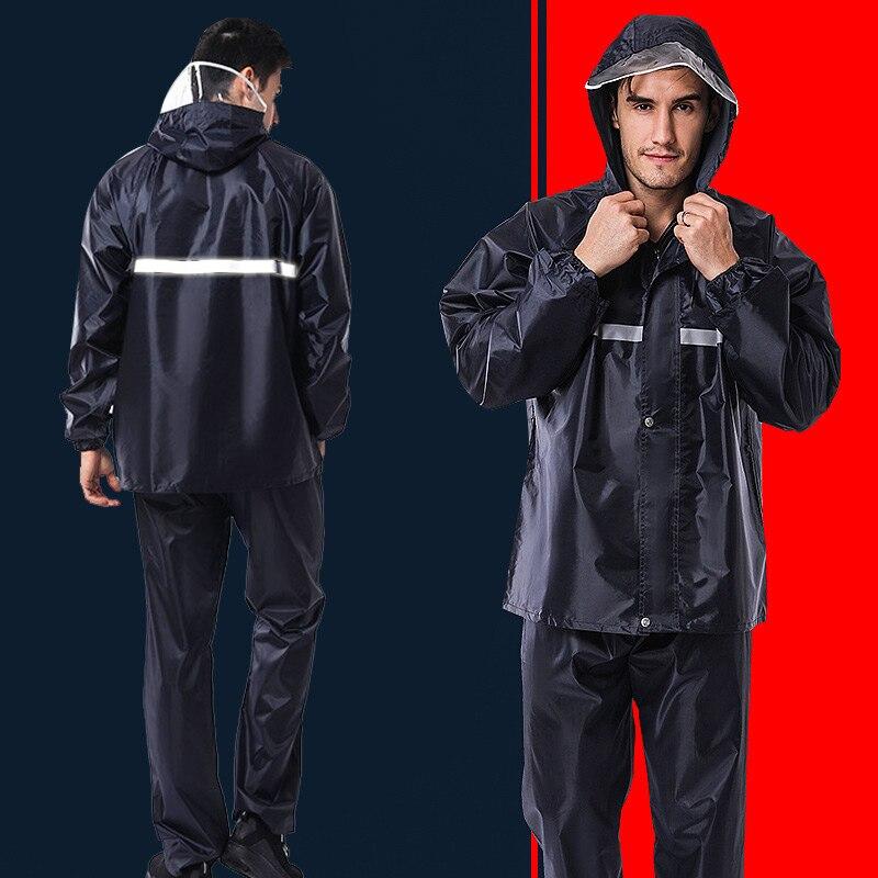 Night Reflection Practical Raincoat Waterproof Rain Coat Hood for Camping Windbreak Poncho Cloak Hiking for Mantle Dorpshipping sock slider aid blue helper kit help