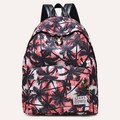 Floral coconut palm Printing Daily Rucksack Men Women's Canvas Backpacks School Bags For Teenagers Girl Boy Schoolbag Mochila