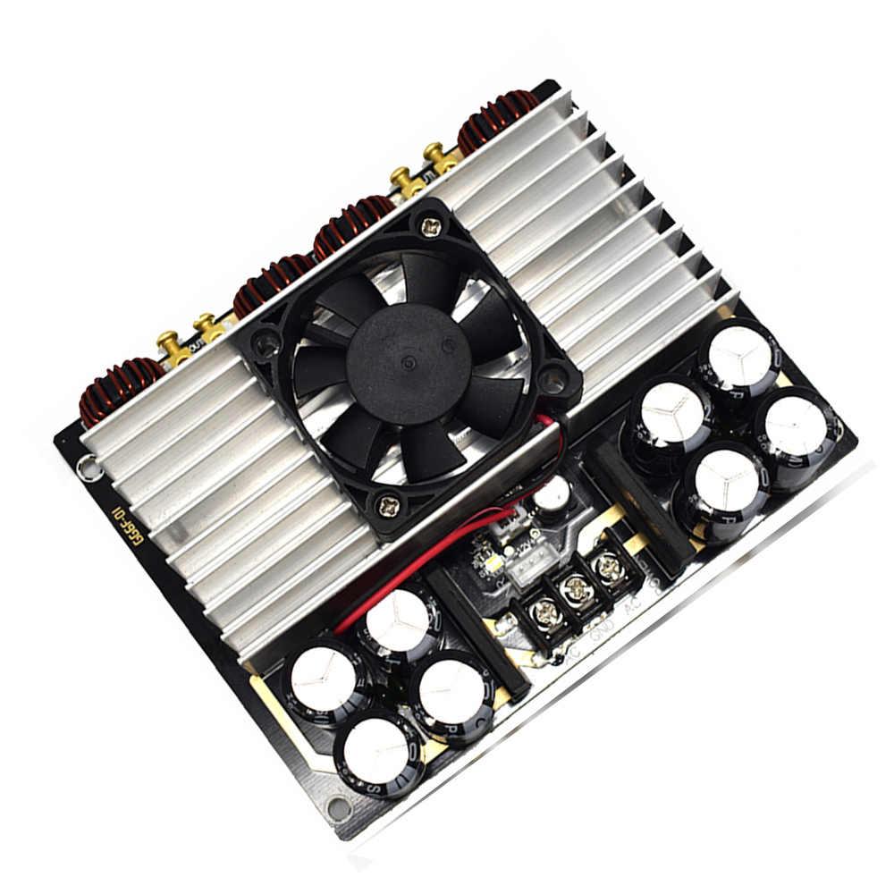 Новый TDA8954TH Вт 420 Вт + 420 Вт двухъядерный двухканальный Clasee AD цифровой HIFI мощность аудио усилители домашние доска с вентилятором Amplificador E4-005