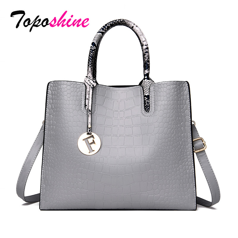 Ladies Handbag Crocodile-Pattern Messenger-Bag Wild-Shoulder High-Quality Casual New-Fashion