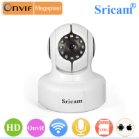 1 0MP H 264 Pan Tilt ONVIF IR Night Vision HD 720P Camera Wifi Ip Wide