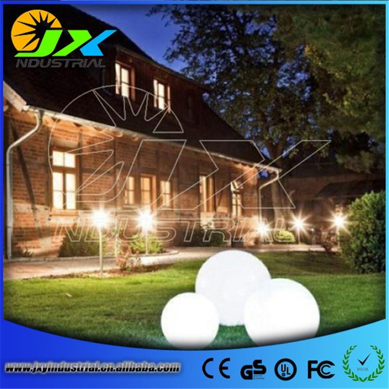 JXY001 Super waterproof rechargeable garden illuminating led sphere light