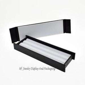 Image 5 - Superior Leather Mute With Magnet Cover  Diamond Display Tray Stone Storage Case Gem Box Jewelry Holder Gemstone Organizer