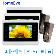 7'' Video Doorbell Video Door Phone Intercom Motion Detection Voice Message Russian Menu/Manual Touch Button Video Record Unlock emrah asan video shot boundary detection by graph theoretic approaches