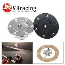 VR RACING-алюминиевая заготовка топливных элементов/топливных перенапряжений крышка заподлицо 6 болтов зеркальная полировка открытие ID 35,5 мм VR-SLYXG01