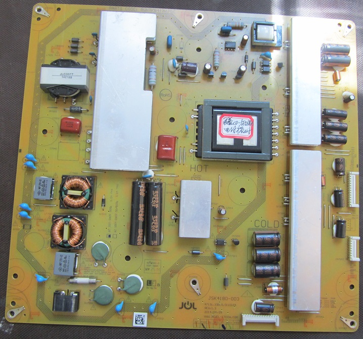 LCD-58U1A power panel RUNTKB412WJQZ JSK4180-003 is used lcd 32lx440a 32lx440 power panel duntkf963fm02 qpwbff963wjn1 is used