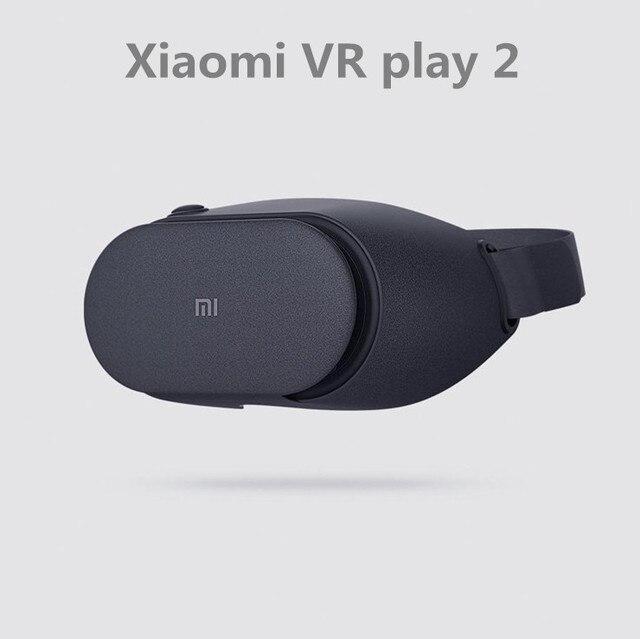 Original Xiaomi VR BOX Mi VR Play 2 Immersive 3D Virtual Reality Glass Headset Work For Xiaomi WIFI APP Remote Control Fov93 1