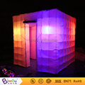 Free shipping Best quality Portable inflatable photo booth cube tent inflatable with led lighting toy tent