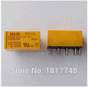Free Shipping} 10PSC DS2E SL2 DC12V:High Sensitivity Relay, 2 Form ...