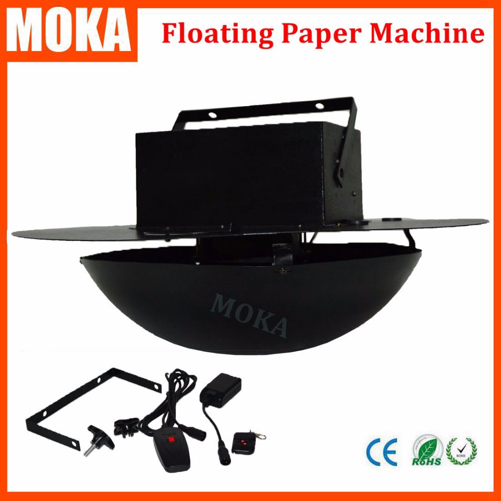 1 Pcs/lot stage lighting special effect swirl confetti blower machine floating paper machine for dj club bar