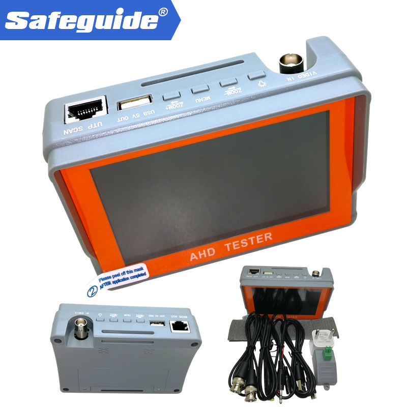 4.3 inch CCTV 1080P AHD CCTV Camera Tester with IV7A4.3 inch CCTV 1080P AHD CCTV Camera Tester with IV7A