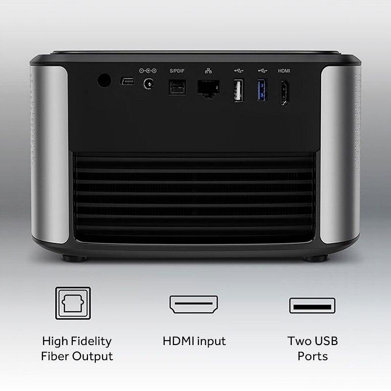Image 5 - JMGO N7 Full HD Projector, 1300 ANSI Lumens, 1920*1080P. Smart Beamer Home Cinema. Support 4K, 3D Projector