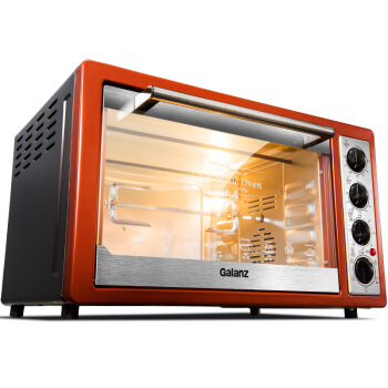 Home Multifunction 30 Liters Baking Oven Up and Down Independent Temperature Control with A Fork Hot Air Kitchen Electric Oven new afp2434 plc 2 axes independent fp2sh positioning units multifunction type