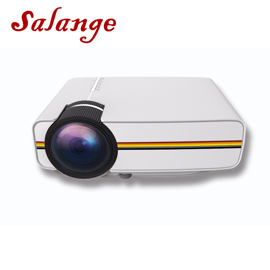 Salange YG400 Video Projector Wired Sync Display For Home Cinema Movie Projector With HDMI USB VGA AV Mini Beamer ProyectorSalange YG400 Video Projector Wired Sync Display For Home Cinema Movie Projector With HDMI USB VGA AV Mini Beamer Proyector