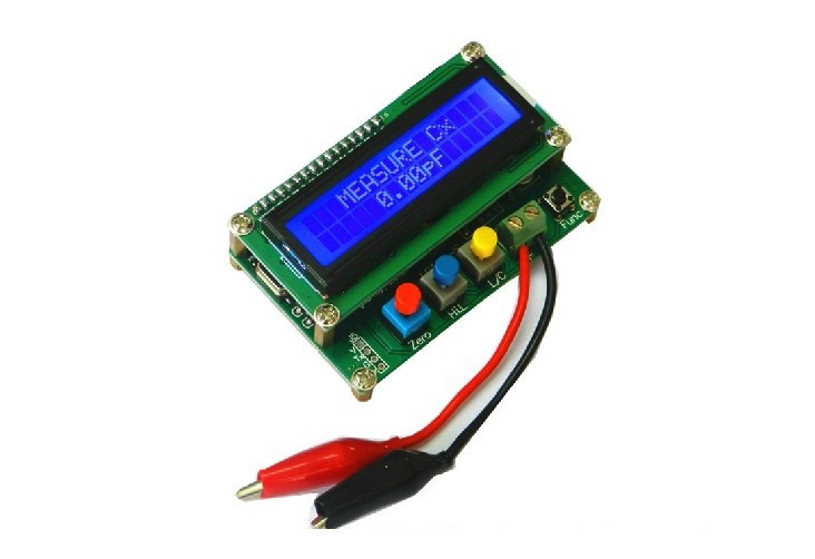 Freeshipping LC100-A Digital LCD High Precision Inductance Capacitance L/C Meter capacitor о б сиротинина язык сми учебное пособие
