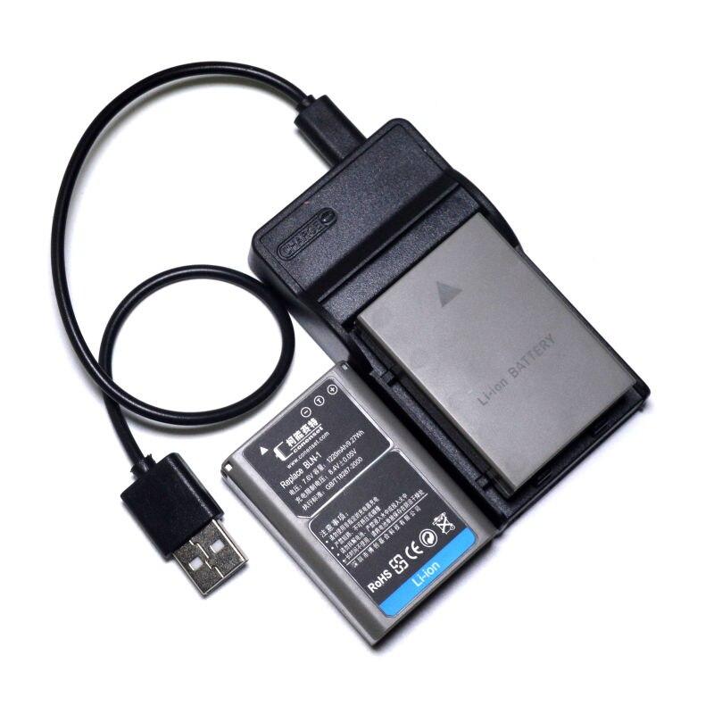 2 PCS BLN-1 BLN1 Batterie et + USB Chargeur Pour Olympus OM-D E-M1 E-M5 Mark II PEN-F E-P5 EM1 EM5 PENF EP5 Caméra