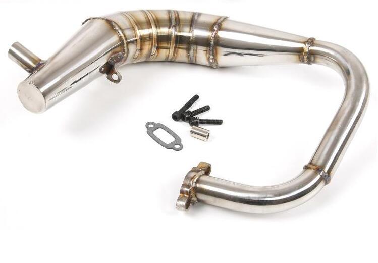 Wydechowy ze stali nierdzewnej rury dla Rofun Rovan F5 MCD XR5 XS5 W5 RR5 1/5 rc samochodu w Części i akcesoria od Zabawki i hobby na  Grupa 2