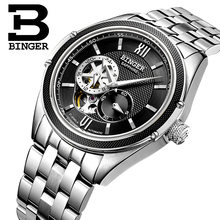 Switzerland Binger Watch Men Luxury Brand Miyota Automatic Mechanical Movement Watches Sapphire Waterproof reloj hombre B-1165-3
