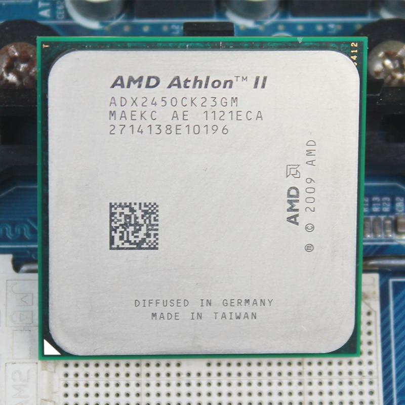 AMD Athlon II X2 245 AM2+ AM3 2.9GHz 2MB Dual-Core CPU for Desktop процессор amd athlon ii x2 340 fm2 ad340xoka23hj 3 2 1mb oem
