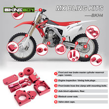 BIKINGBOY Bling Kits pour HONDA CRF 250 R X 04-17 CRF450R 02-17 CRF450X 05 06 07 08 09 10 11 12 13 14 15 16 2017 Modification Ensemble