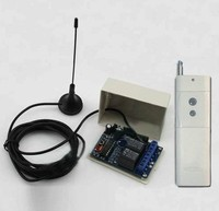 3000M DC12V 10A 2CH 315 433MHz RF Wireless Remote Control Power Switch Radio Controller Transmitter Receiver