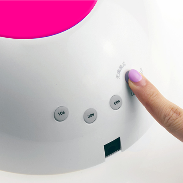 SUNUV SUN2C 48W Nail Lamp UV Lamp SUN2 Nail Dryer for UVLED Gel Nail Dryer Infrared Sensor with  Rose Silicone Pad Salon Use 4
