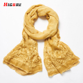 2017 Autumn Winter Fashion Classic Retro Scarf Cotton Linen Luxury Scarves & Wraps Lady Long Scarf Multicolor 190*88cm Cachecol