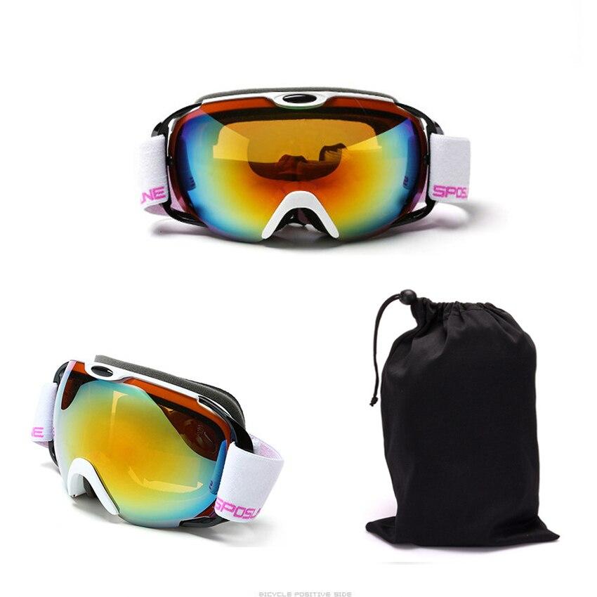 Professional upmarket ski glasses ski goggles double layers UV400 anti-fog big ski mask glasses skiing snowboard goggles box-05