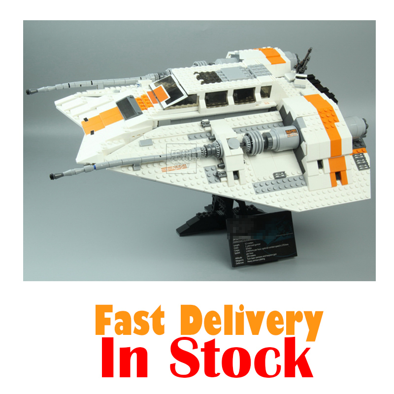 Lepin 05084 1457Pcs Star Series War The Rebel Snowspeeder Set Educational Building Blocks Bricks Toy for children Gifts 10129 for the duration the war years