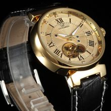 2016 Fashion Luxury Brand Women Wacth Tourbillon Hollow Calendar Automatic Mechanical Watch Mens Watches With Original
