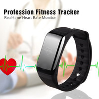 Health Care Blood Pressure Monitor Pulse Oximeter Heart Rate Monitor Bluetooth Waterproof Fitness Tracker Smart Wristband