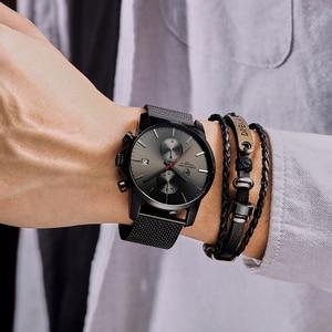 Image 5 - CHEETAH mężczyźni oglądać najlepsze luksusowe marki męskie mody zegarki kwarcowe ze stali nierdzewnej wodoodporny chronograf zegar Relogio Masculino