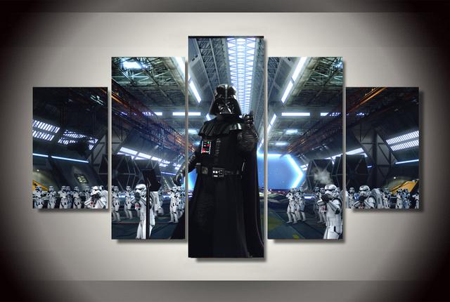 Modern Decorative Star Wars Canvas