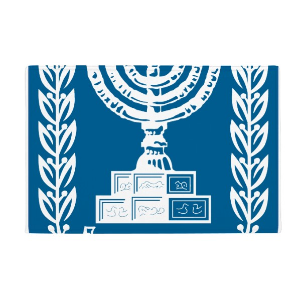 Israel National Emblem Country Anti-slip Floor Mat Carpet Bathroom Living Room Kitchen Door 16x30Gift