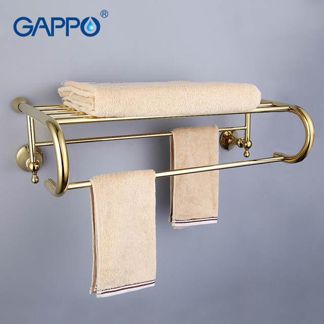 Aliexpress.com : Buy GAPPO Top Quality Gold Wall Mounted Bathroom ...