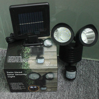 22 SMD LED Solar Power Street Light PIR Motion Sensor Light Garden Security Lamp Outdoor Street