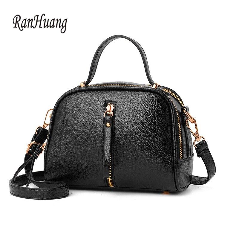 Ranhuang Для женщин небольшая сумка Сумки модные Сумки на плечо для Обувь для девочек высокое качество из искусственной кожи Сумки через плечо ...