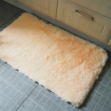 40*60cm/15.74*23.62in Silk mini bath mats Bathroom anti slip mat Mechanical wash