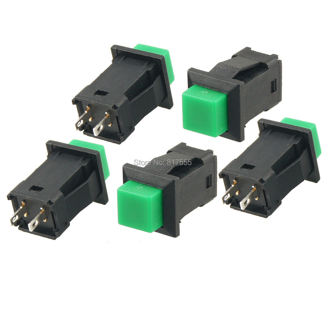 5 Pcs Lot 2 Pins Spst Momentary Push Button Switch No Ac 250v 1a Of Switches Should Only Require Two Terminals 125v 3a Accessories Electrical Equipment In From Lights