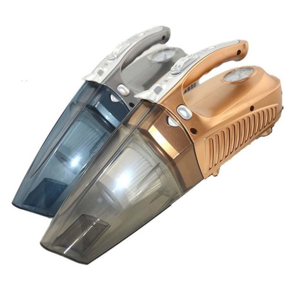 Voiture Aspirateur robot Automatique Humide/Sec 4-en-1 De Poche Véhicule Haute Puissance Pompe de Gonflage LED pour Éclairage Dropshipping