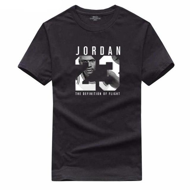 49377a160cf8c 2018 nuevo verano James Kobe camiseta JORDAN 23 camiseta estudiante  adolescente manga corta de los hombres