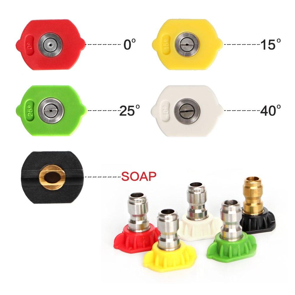 Lavadora a Presión VARIO Boquilla 4 en 1 con alta//baja presión de cero a 60 grados ángulo