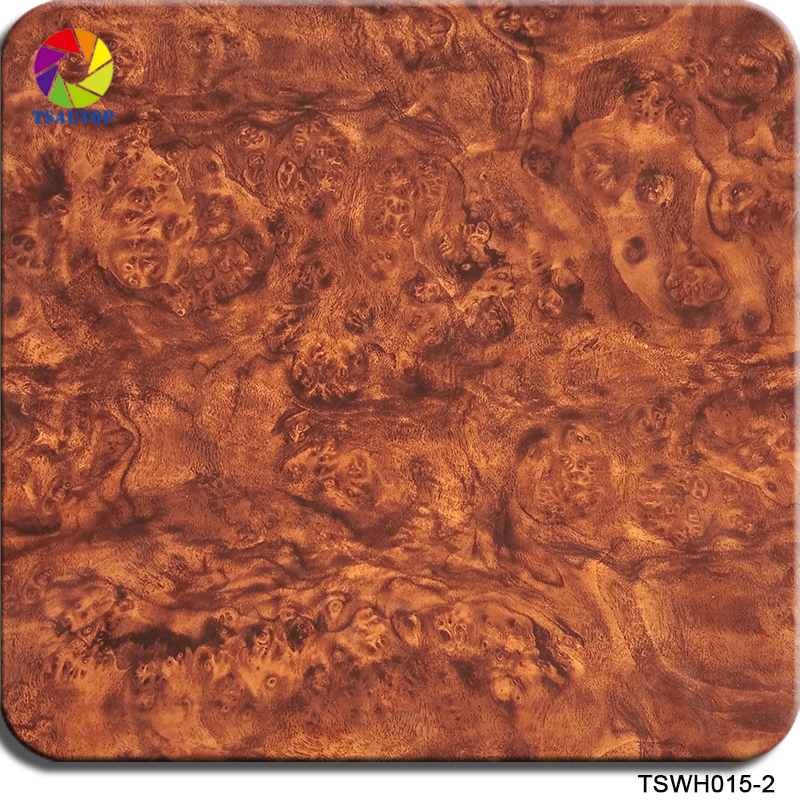 Free Shipping 0.5*2m/10m Size TSWH015-2 WOOD Hydrographic Film Water Dipping Water Transfer Printing Film