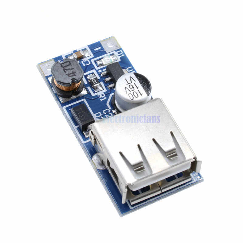 1 Pcs DC-DC USB Step Up Power Boost Modulo 0.9 V-5 V a 5 V 600mA PFM Controllo mini Ripetitore Mobile 96% ad alta efficienza