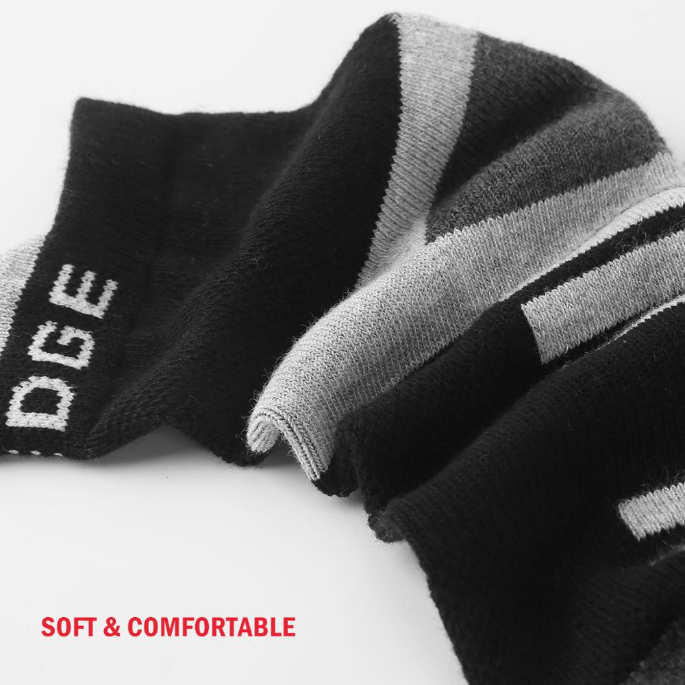 Image 5 - YUEDGE Unisex  Wicking Cushion Cotton Ankle Socks Casual Cycling Running Tennis Sports Socks for Men and Women( 5 Pairs/Pack)-in Men's Socks from Underwear & Sleepwears