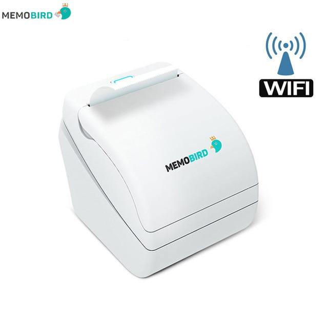 Imprimantes Memobird G1 Nouvelle Thermique Imprimantes Imprimantes code-barres WiFi Sans Fil À Distance Téléphone Photo Imprimante n'importe quelle langue