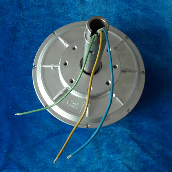 PMG220 0.1kw 200RPM vertical axis wind turbine Coreless PMG outer Rotor Generator Three Phase Permanent Magnet Alternator